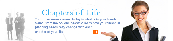 Chapters of Life - financial planning